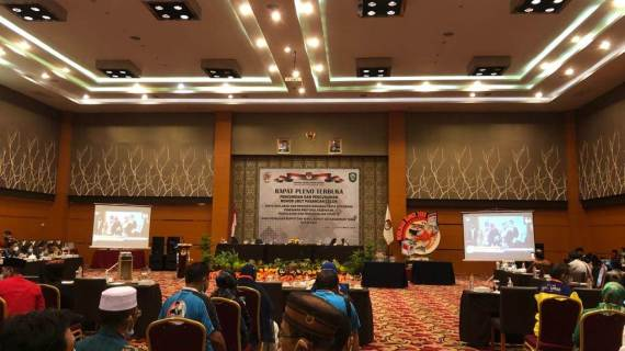 KPU Kotawaringin Timur Gelar Pengambilan Nomor Urutan Pasalon