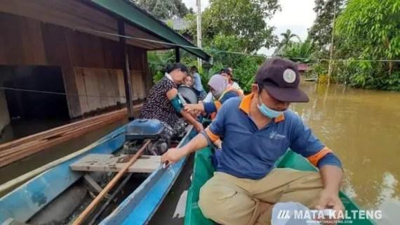 3000 Kepala Keluarga di Kotim Terdampak Banjir