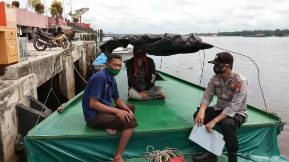 Personel KPM Berikan Imbauan Larangan Bakar Hutan