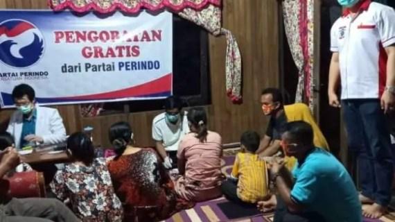 Perindo Berikan Pengobatan Gratis, Berikut Komentar Anggota DPRD Kotim
