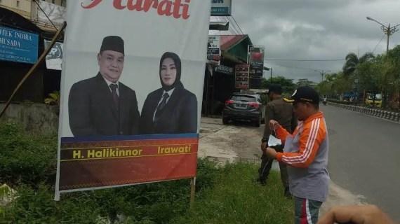Bawaslu Kotim Terbitkan Baliho, Billboard, Umbul-umbul dan Spanduk Non Alat Peraga