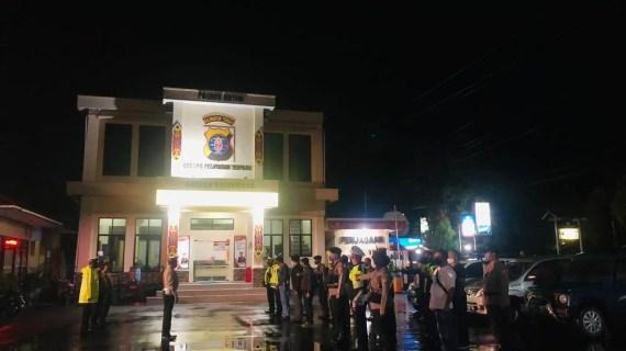 Patroli Malam Polres Kotim Sasar Kantor KPU dan Bawaslu