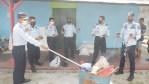 Lapas Klas IIB Sampit Musnahkan Barang Terlarang Hasil Razia Kamar Hunian