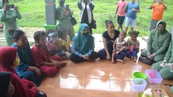 Ibu Persit Ingin Warga Konsumsi Makanan yang Sehat
