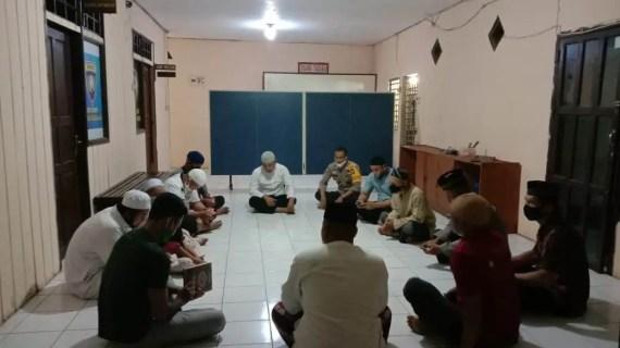 Keluarga Besar Polsek Parenggean Gelar Tahlilan Hari ke 7 Almarhum Aiptu Eddy Prabowo
