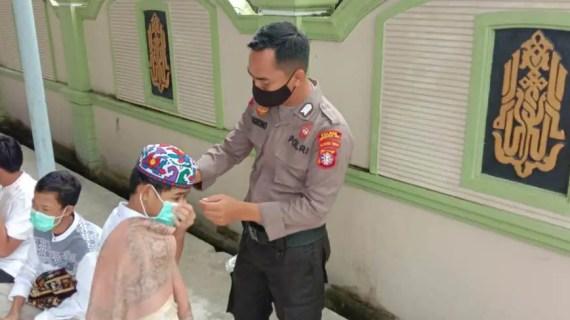 Polsek Baamang Monitoring Serta Pengawasan Masjid di Wilkum
