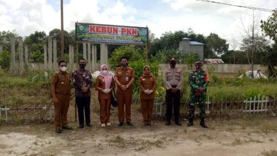 Wakil Walikota Palangkaraya Kunjungi Kampung Berkualitas Diwilkum Polsek Baamang