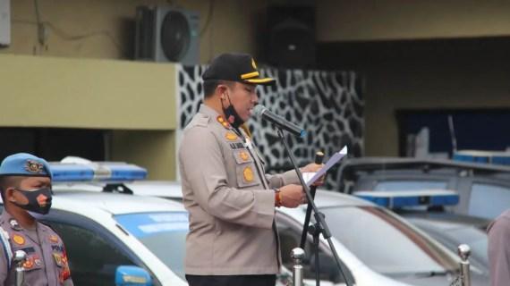 Polres Kotim Tanda Tangani Pakta Integritas Netralitas Dalam Pilkada 2020