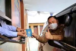Di Kotim Bikin Paspor Bisa dalam Mobil