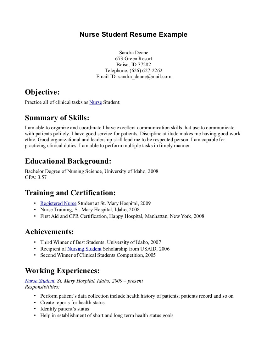 Good Nursing Resume Examples give a good impression with examples of this sample to make nursing resume examples Rn Cover Letter Resume Format Download Pdf Pinterest Nursing Cover Letter Sample