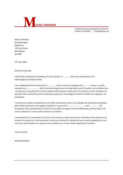 Cover Letter For Resume Format 13 21 Writing How To Make
