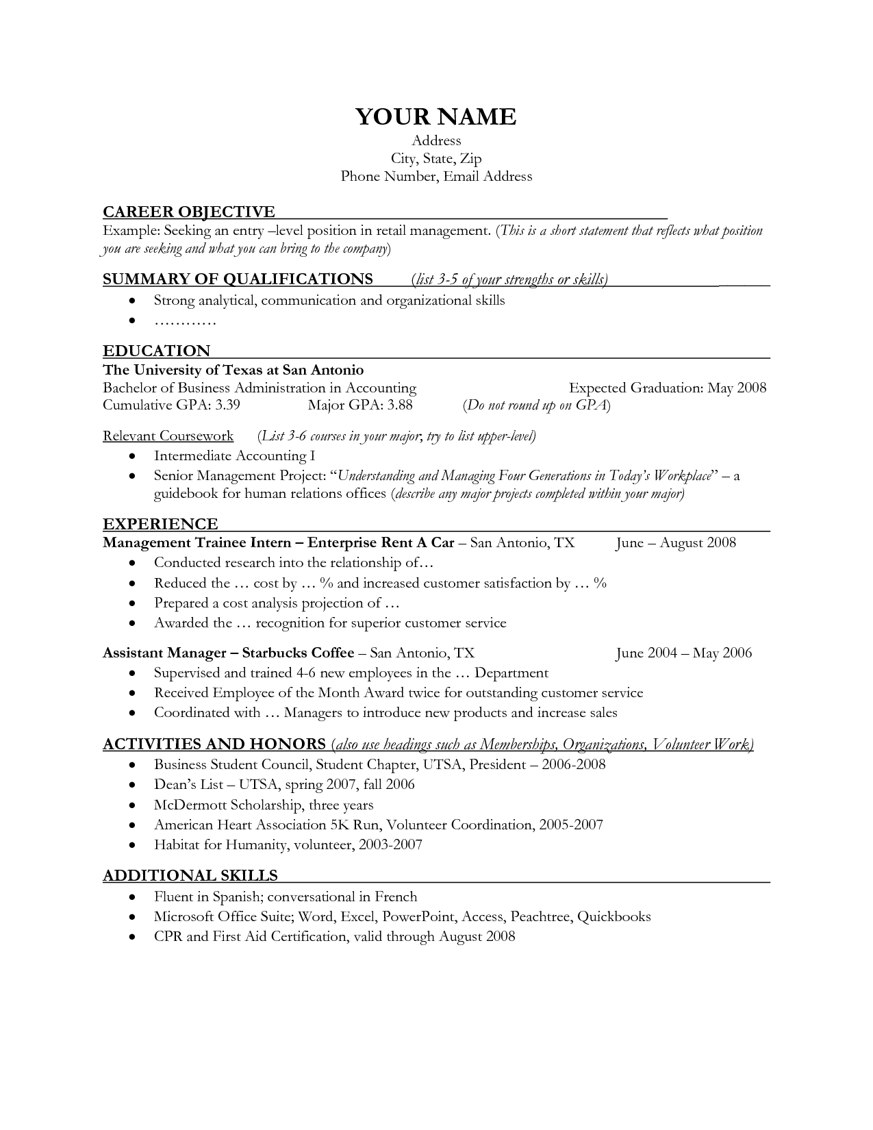 Fashion Students Cover Letter