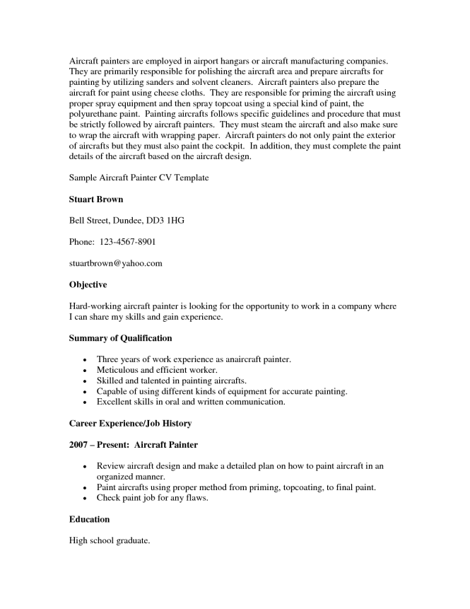 resume sample objective summary resume sample