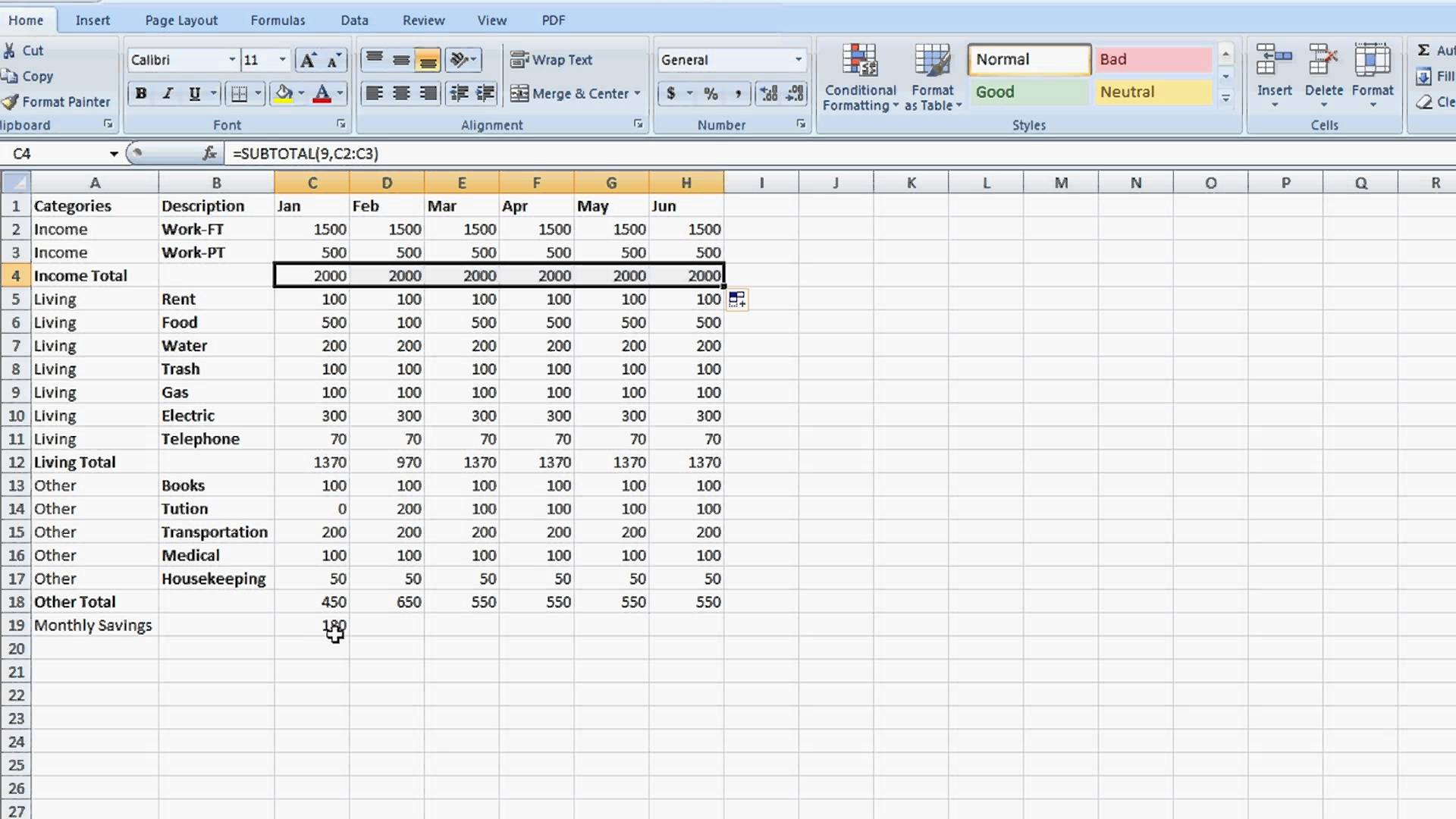 How To Create A Spreadsheet Excel