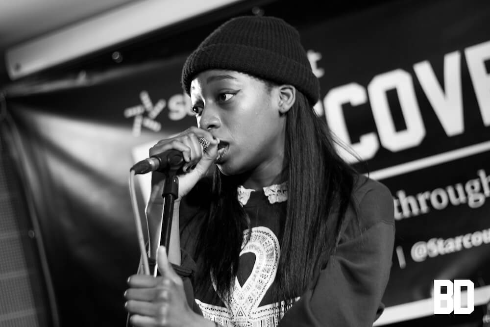 Little Simz at Be Discovered Live