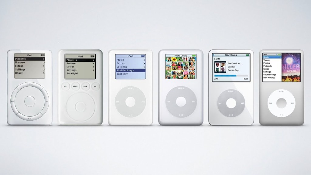 The iPod classic - the old hardware king for large digital music collections