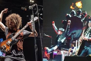 Wolfmother and Guns n Roses (via Musicfeeds)