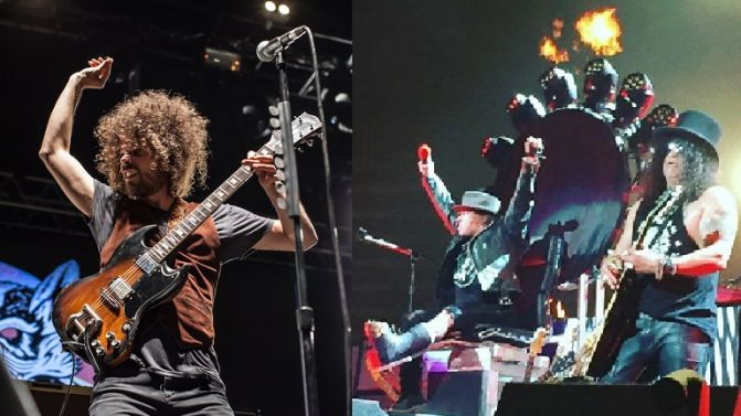 Wolfmother and Guns n Roses
