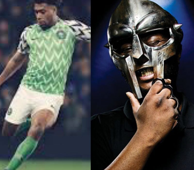 Nigeria and MF DOOM as Musa Okwonga compared