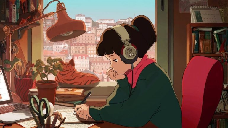 Lo-fi beats to study to
