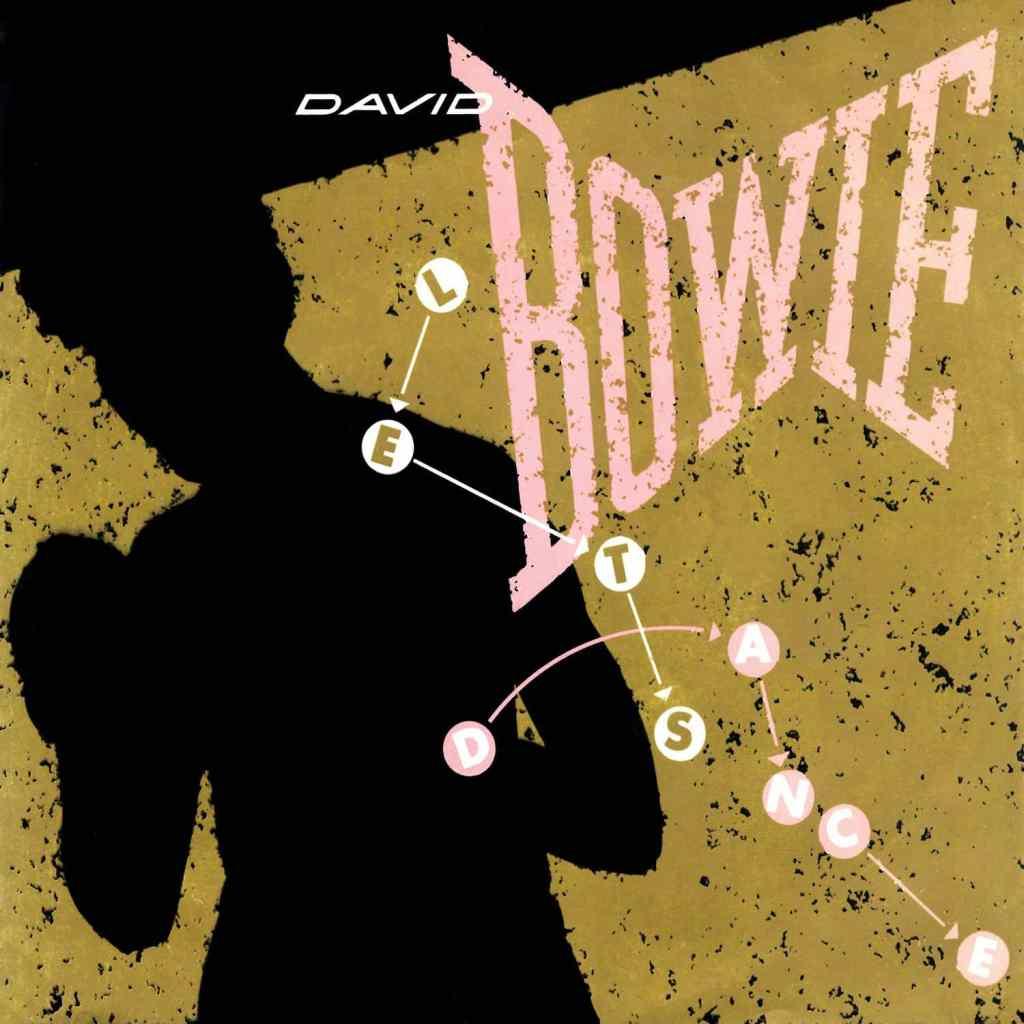 Cover art for David Bowie's single, Let's Dance