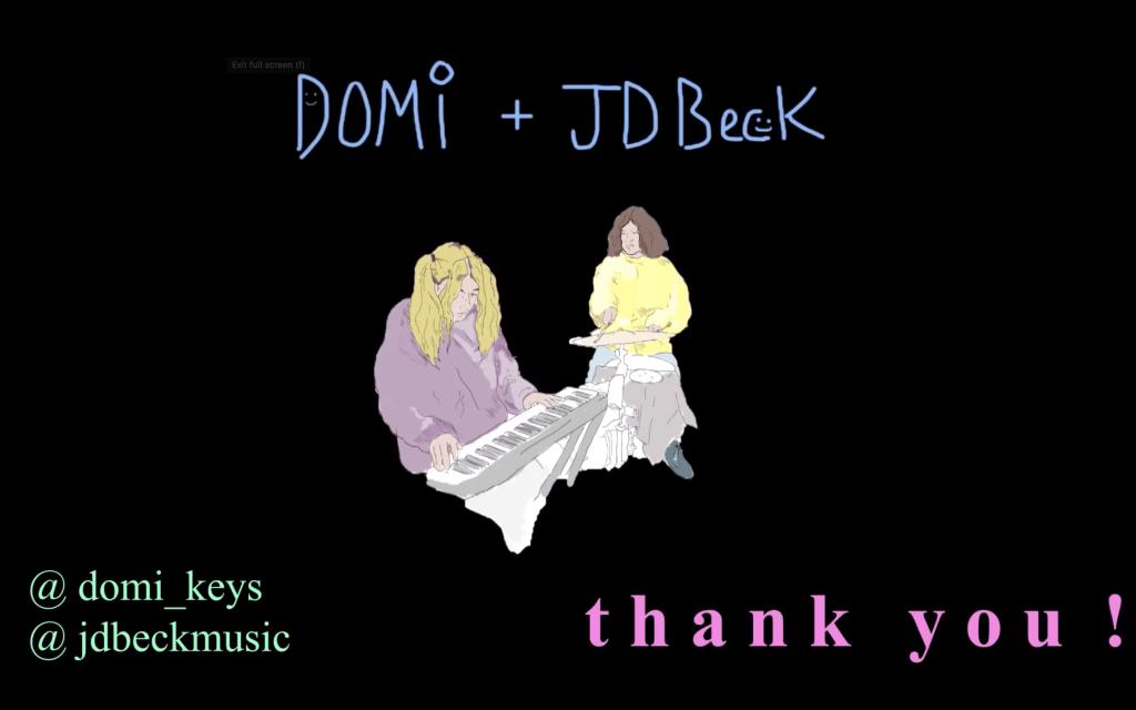DOMi & JD Beck