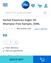 Free Herbal Essences Argan Oil Shampoo