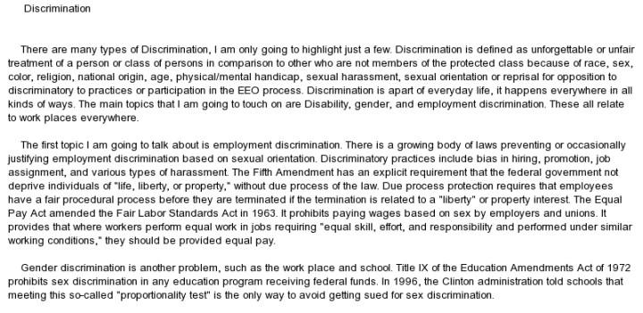 gender discrimination essay gender discrimination photo essay essay on gender discrimination in docoments ojazlink