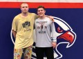 Armstrong wrestlers Oggie Atwood (11-0, senior, 220 pounds) and Logan Harmon (11- 1, sophomore, 182 pounds) will look to translate their practice partnership into a joint trip to Hershey this season for the PIAA championships.