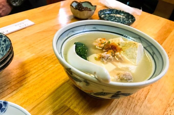 三州屋鳥豆腐