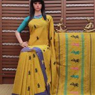 Bodhitha - Gollabama Buta Cotton Saree