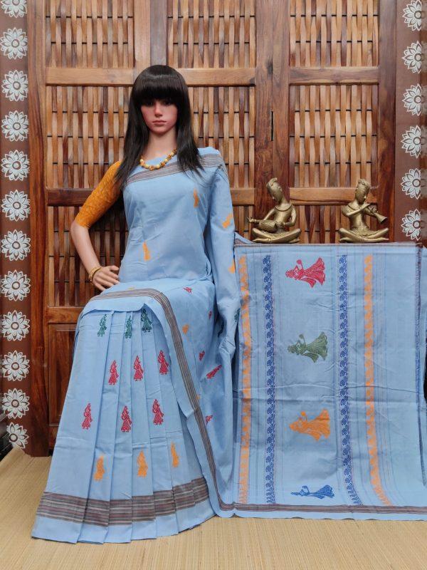 Ekathva - Gollabama Cotton Saree