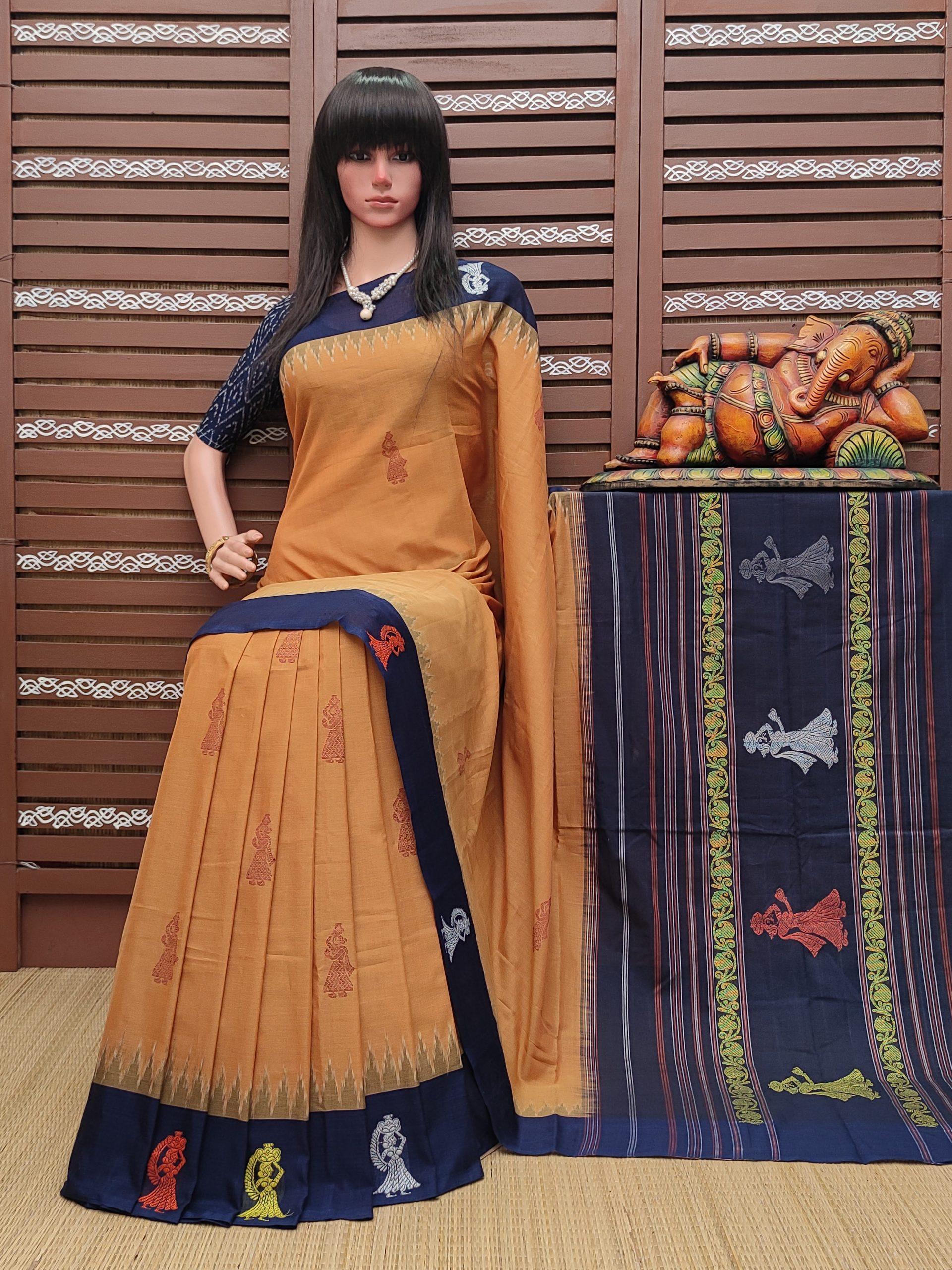 Kamika - Gollabama Cotton Saree