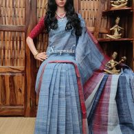 Jeevanthini - Jamdani Cotton Saree