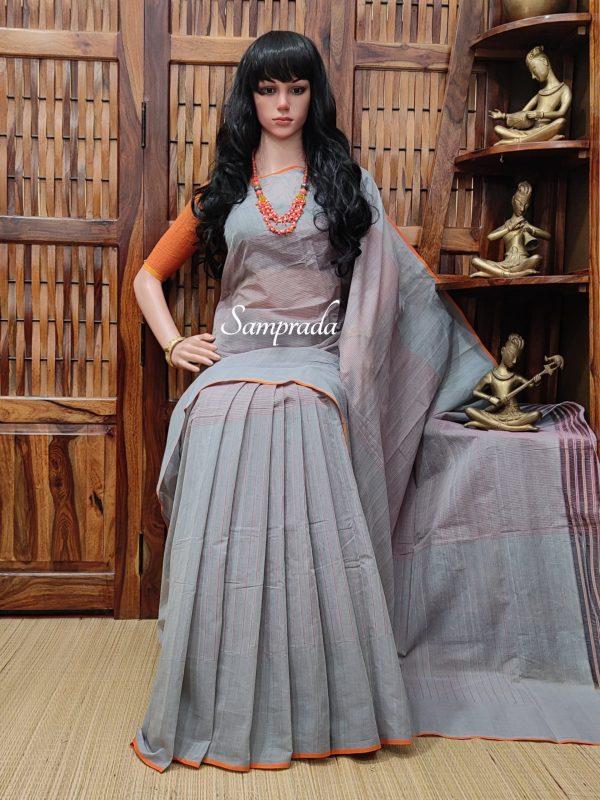 Jeevitha - Jamdani Cotton Saree