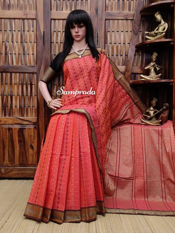 Aardra - Kanchi Cotton Saree
