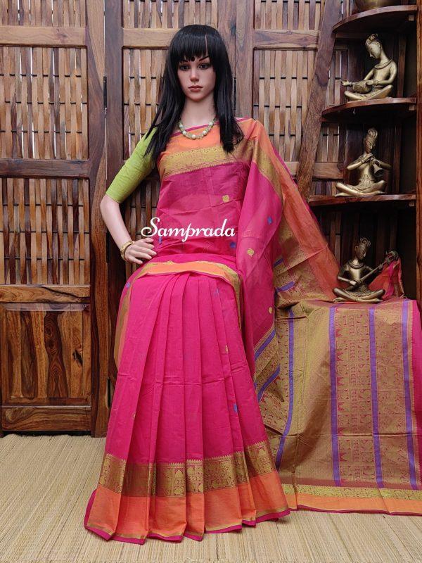 Abhignya - Kanchi Cotton Saree