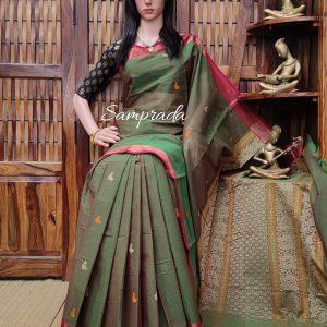 Ambaya - Kanchi Cotton Saree