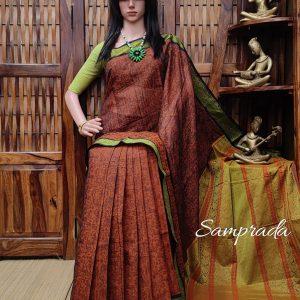 Ambuda - Kanchi Cotton Saree