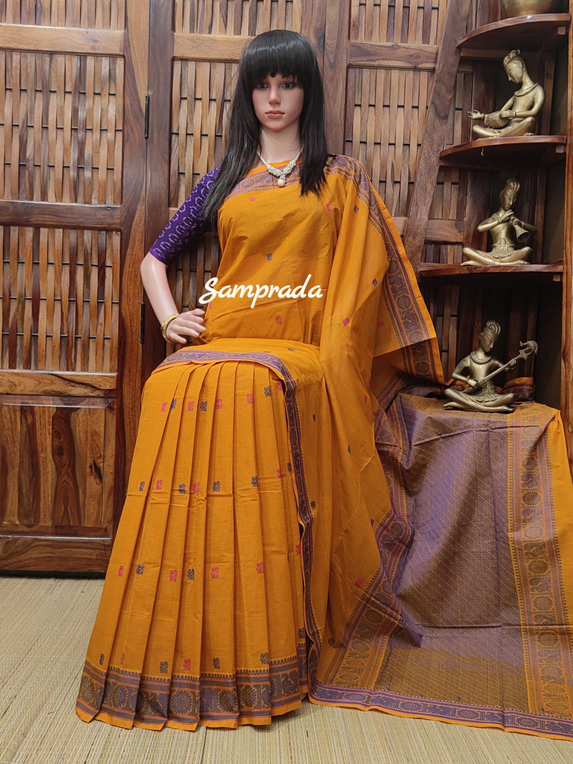 Anchita - Kanchi Cotton Saree