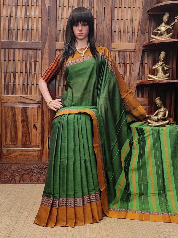 Maithri - Mercerized Pearl Cotton Saree