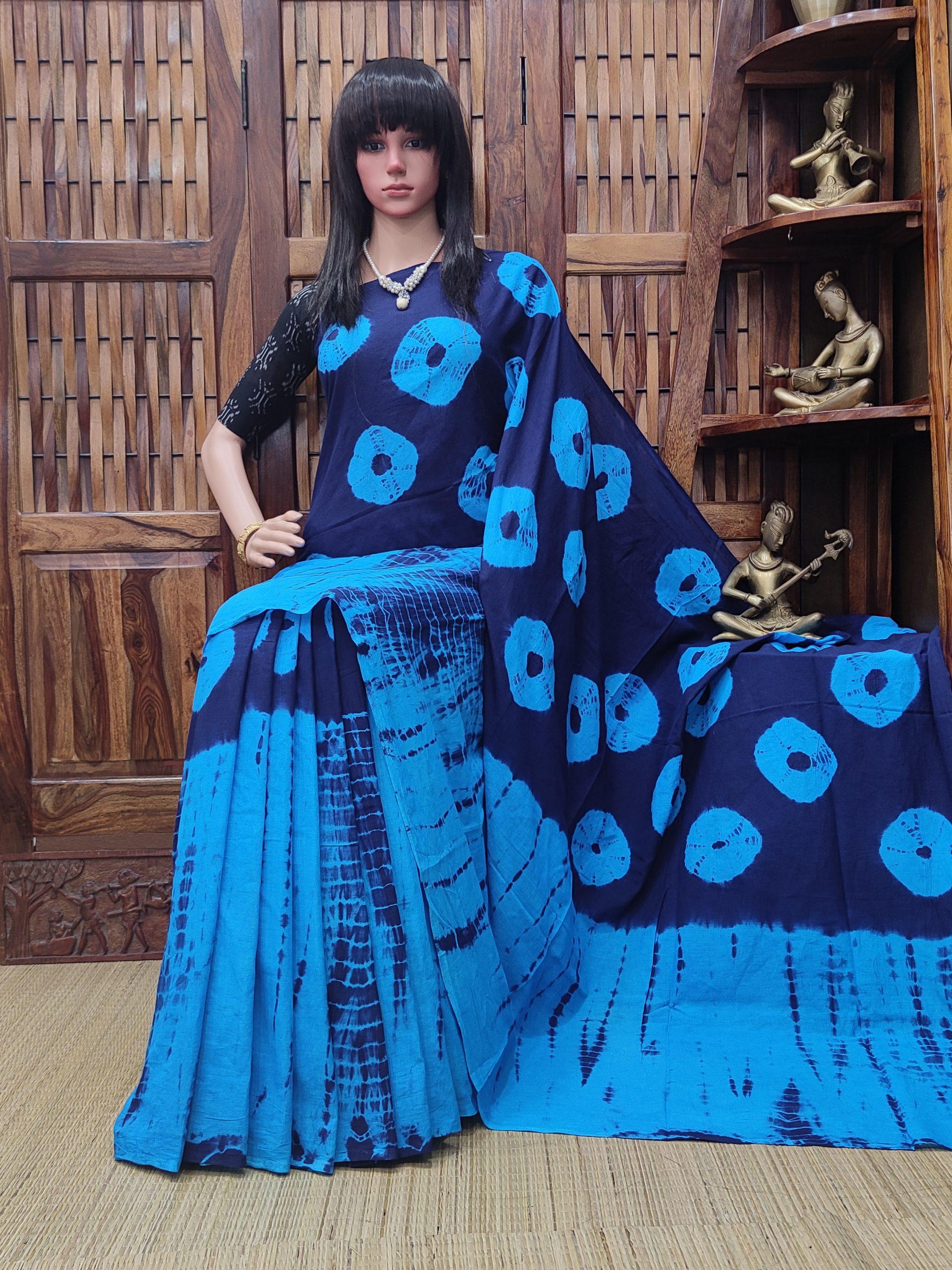 Madhubala - Mulmul Cotton Saree