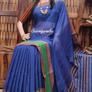 Naganandini - Mercerized Pearl Cotton Saree