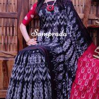 Paayal - Ikkat Cotton Saree