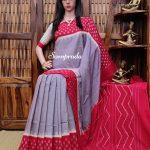 Pareeksha - Ikkat Cotton Saree