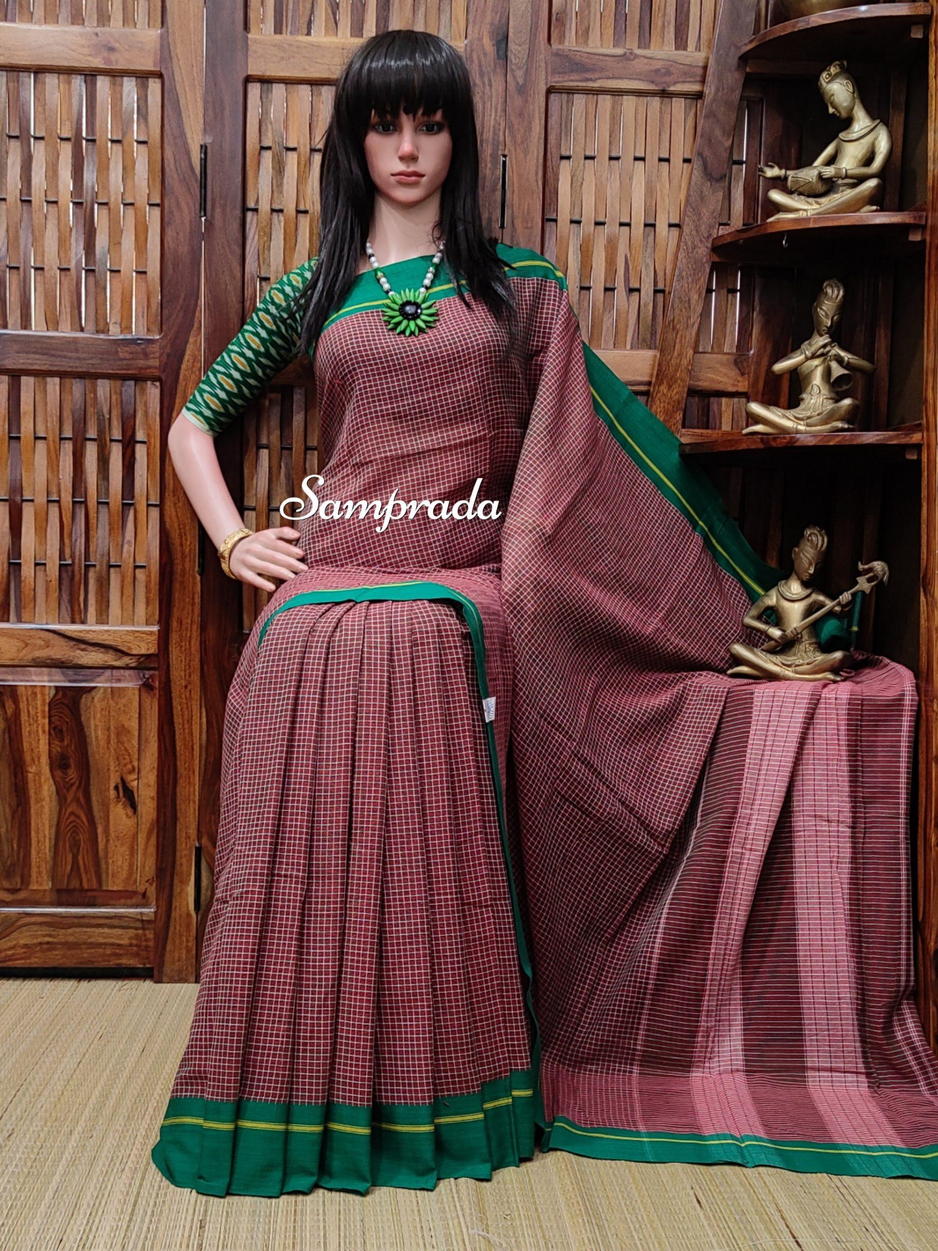 Rajalakshmi - Patteda Cotton Saree