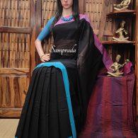 Ridhama - Patteda Cotton Saree
