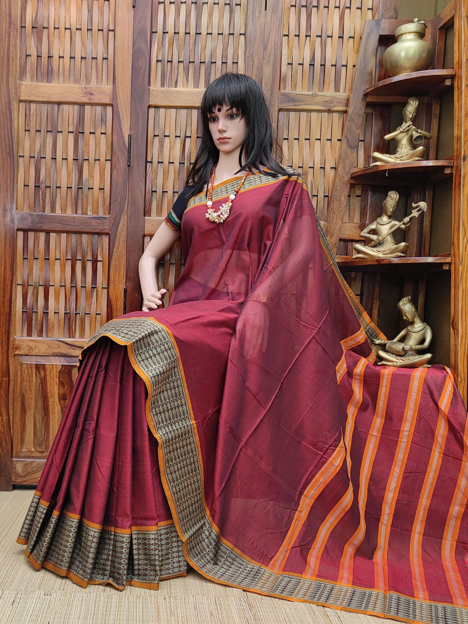 Dakshhtha - Pearl Cotton Saree