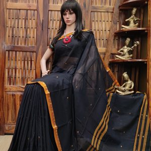 Damarugapriya - Pearl Cotton Saree