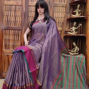 Damini - Pearl Cotton Saree